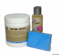 Cartec - Clay Bar Lak Gum - glinka do usuwania osadu z karoserii