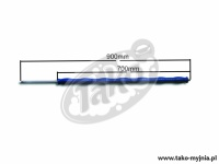 LANCA EASYWASH365+ 900 mm / 700 mm INOX