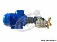 Pomposilnik 200 bar 15 l/min + regulator ciśnienia