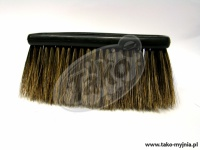 Szczotka z naturalnego włosia 9 cm - wkład