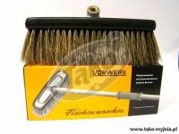 VORWERK Szczotka z naturalnego włosia 6 cm - komplet z płytą mocującą